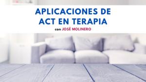 Aplicaciones de ACT en terapia