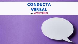 Conducta Verbal