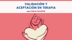 Validación y aceptación
